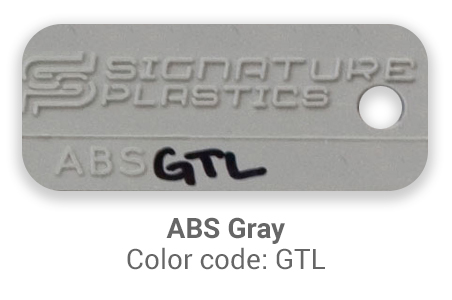 Pimp My Keyboard ABS Gray gtl color-tab