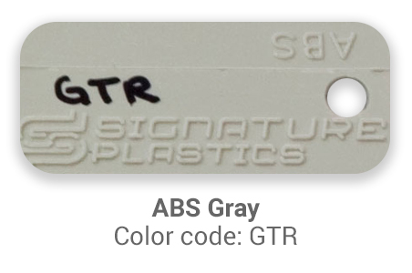 Pimp My Keyboard ABS Gray gtr color-tab