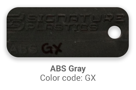 Pimp My Keyboard ABS Gray gx color-tab