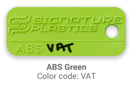 Pimp My Keyboard ABS green vat color-tab