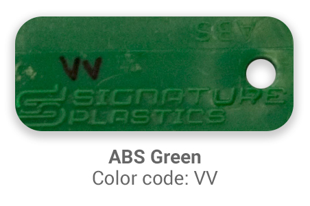 Pimp My Keyboard ABS green vv color-tab