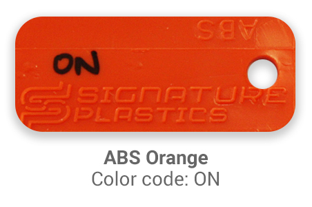 Pimp My Keyboard ABS Orange on color-tab