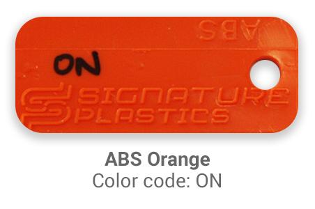 Pimp My Keyboard ABS Orange on color-tab