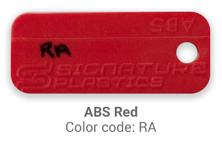 Pimp My Keyboard ABS Red RA color-tab