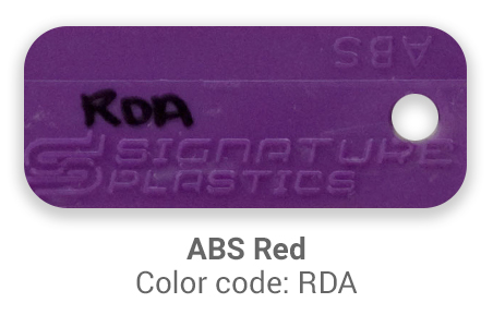 Pimp My Keyboard ABS Red rda color-tab