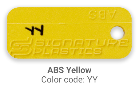 Pimp My Keyboard ABS-yellow-yy color-tab
