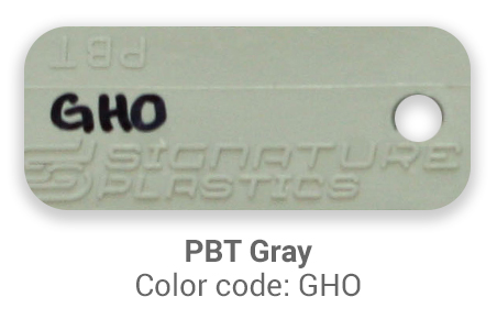 Pimp My Keyboard PBT Gray gho color-tab