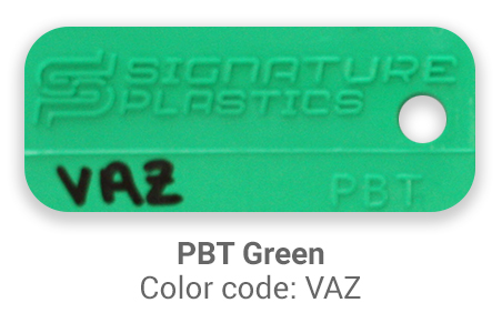 Pimp My Keyboard PBT Green vaz color-tab