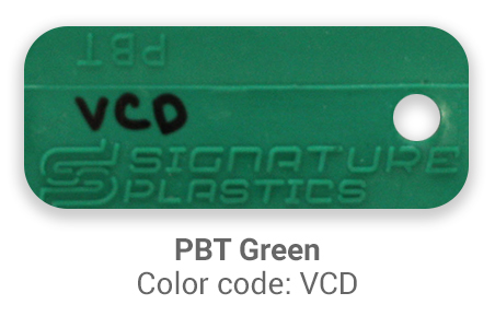 Pimp My Keyboard PBT Green vcd color-tab