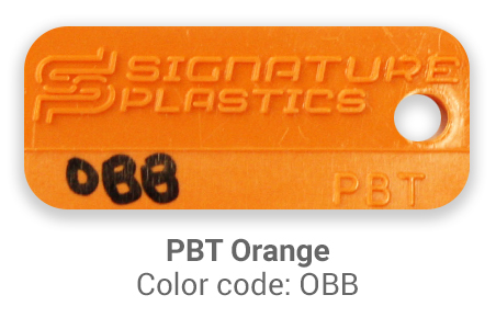 Pimp My Keyboard PBT Orange OBB color-tab