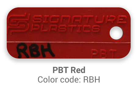 Pimp My Keyboard PBT Red rbh color-tab