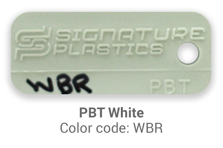 Pimp My Keyboard PBT White wbr color-tab