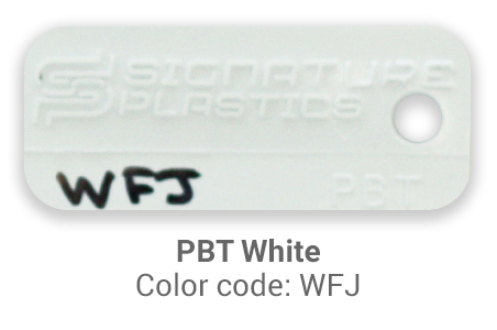 Pimp My Keyboard PBT White wfj color-tab