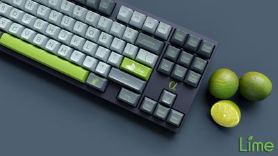 """SA """"Lime"""" Keyset"""