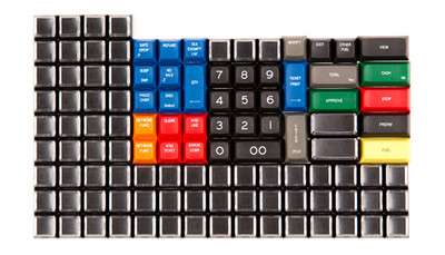 "DSA ""Ruby POS Super System"" Keycap Set"