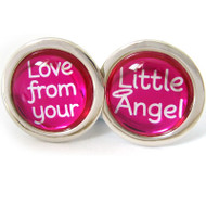 Cufflinks Love From Your Little Angel