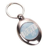 Super Duper Dad Keyring