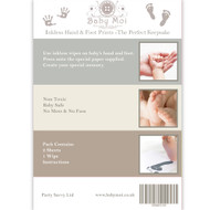 inkless baby hand and foot print kit
