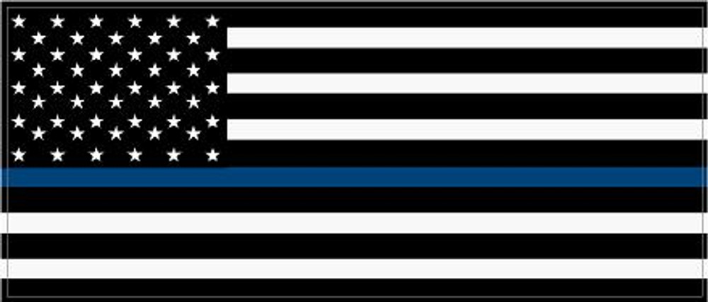 Back the Blue 2017-8 decal