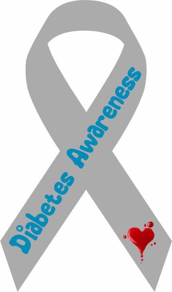 2017-awareness diabetes decal