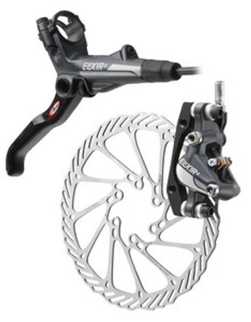 Avid Elixir 7 Hydraulic Front Disc Brake Caliper and Rotor