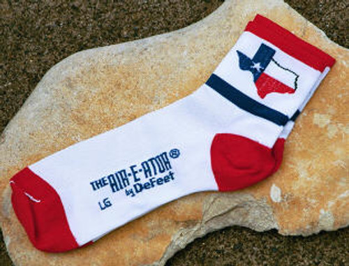 Texas Flag Socks by DeFeet