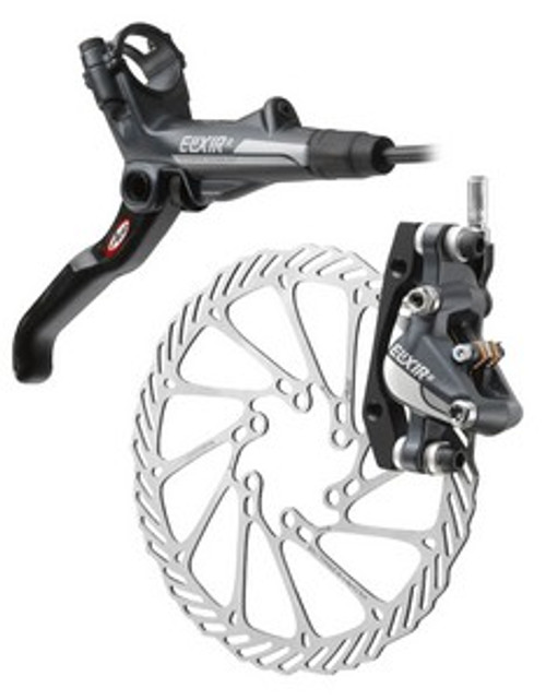 Avid Elixir 7 Hydraulic Rear Disc Brake Caliper and Rotor