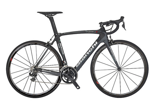 Bianchi HoC Oltre XR.2 Shimano STI equipped Carbon Bicycle, Black - Build It Your Way