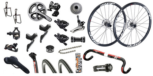 Shimano Road STI Hydraulic Bike Build Kit