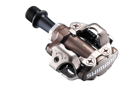 Shimano PD-M540 SPD Pedals and Cleats, Silver