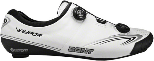 Bont Vaypor+ Cycling Road Shoes, White