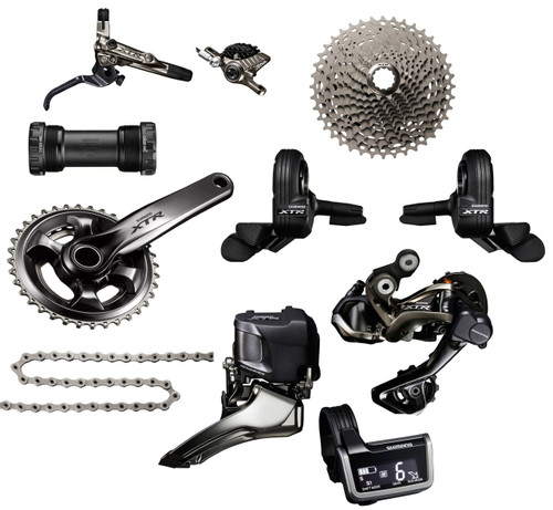 Shimano XTR 9050 Di2 Groupset with M9000 Chainrings | Race