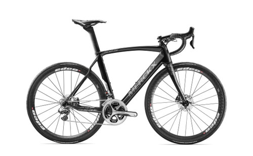 Eddy Merckx 525 Endurance Disc Campagnolo EPS equipped Carbon Bicycle, Black Anthracite & Silver Satin - Build It Your Way