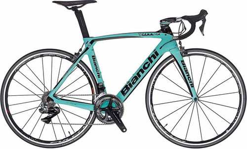 Bianchi Oltre XR.4 Campagnolo Ergo equipped Carbon Bicycle, Matte Celeste Green - Build It Your Way