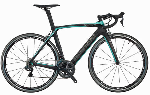 Bianchi Oltre XR.4 Shimano STI equipped Carbon Bicycle, Matte Black - Build It Your Way