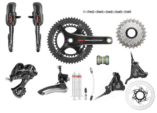 Campagnolo Record H11 Hydraulic Flat Mount Ergo Groupset