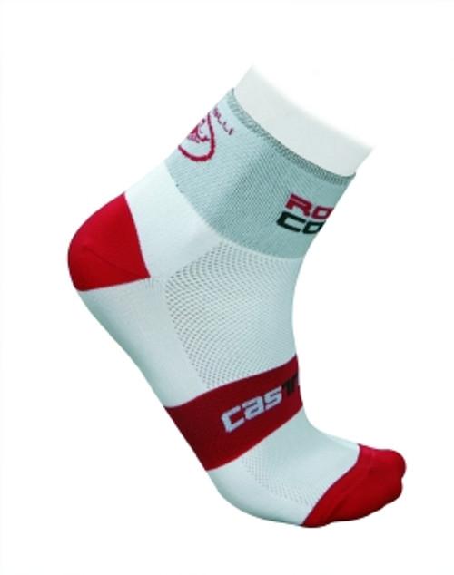 Castelli Rosso Corsa Socks