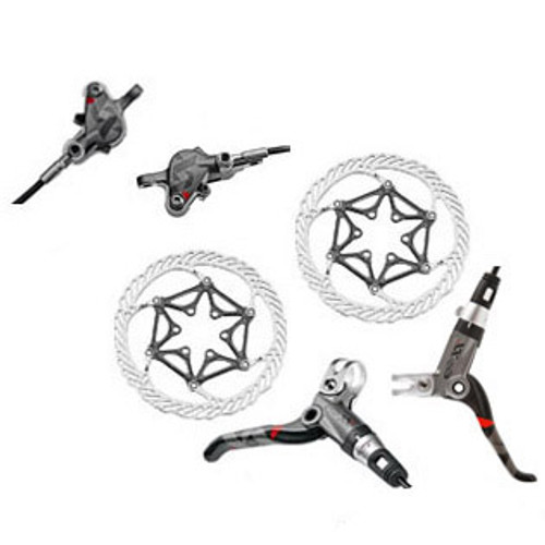 Avid XX Disc Brake Caliper  Rotor and Lever Set