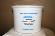 THREE (3) CAB O SIL  Adhesive Filler 5qt $55.00