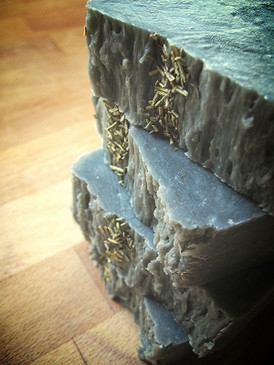 The Hermit Hot Process Soap - Fir Needle, Rosemary, Cedar & Fennel Essential Oils