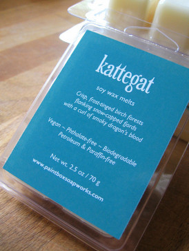 Kattegat Soy Wax Melts - Birch, Frost, Cold Sea Water, Dragon's Blood...