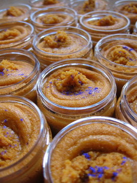 Fairytale Sorbetto Emulsifying Sugar Scrub SAMPLE SIZE - Sweet Pumpkin, Spiced Lavender... Weenie Limited Edition