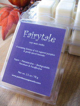 Fairytale Soy Wax Melts - Sweet Pumpkin, Spiced Lavender... Weenie Limited Edition