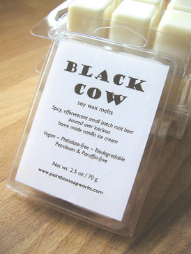 Black Cow Soy Wax Melts - Small Batch Root Beer, Vanilla Ice Cream... Summer Limited Edition