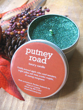 Putney Road Luxury Candle - Apple Cider, New England Woods, Wool Sweaters... Weenie Limited Edition