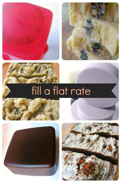 Fill a Flat Rate Envelope - Pick Any 6 Bars with Flat Rate Shipping