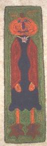 Punch hooked by Angela Jones, Raywick, Kentucky. Hand dyed wool rug yarns.