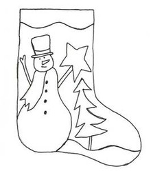Frosty Stocking