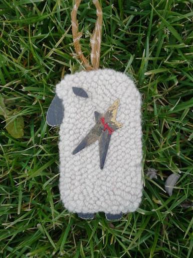 Lamb ornament.