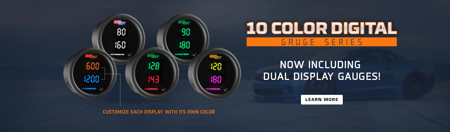 10 Color Digital Gauges